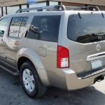 SUV bumper dent repair