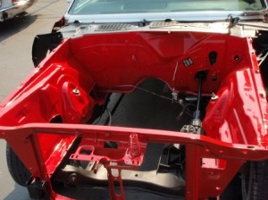 red engine block