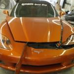 corvette dent repair