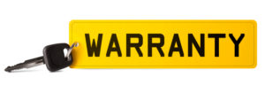 car registration warranty