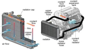 radiator and engine cooling system
